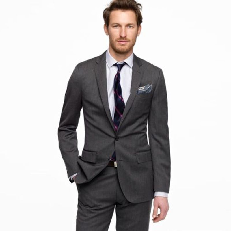 Click to Buy << 2016 New Custom Made Handmade Men Slim Fit Suits ...