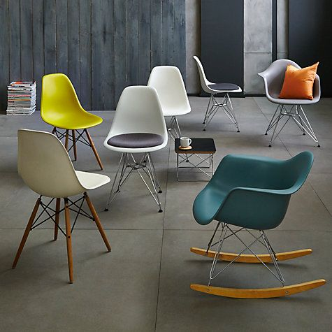 Eames Dowel Leg Side Chair by Herman Miller   Eames chairs ...