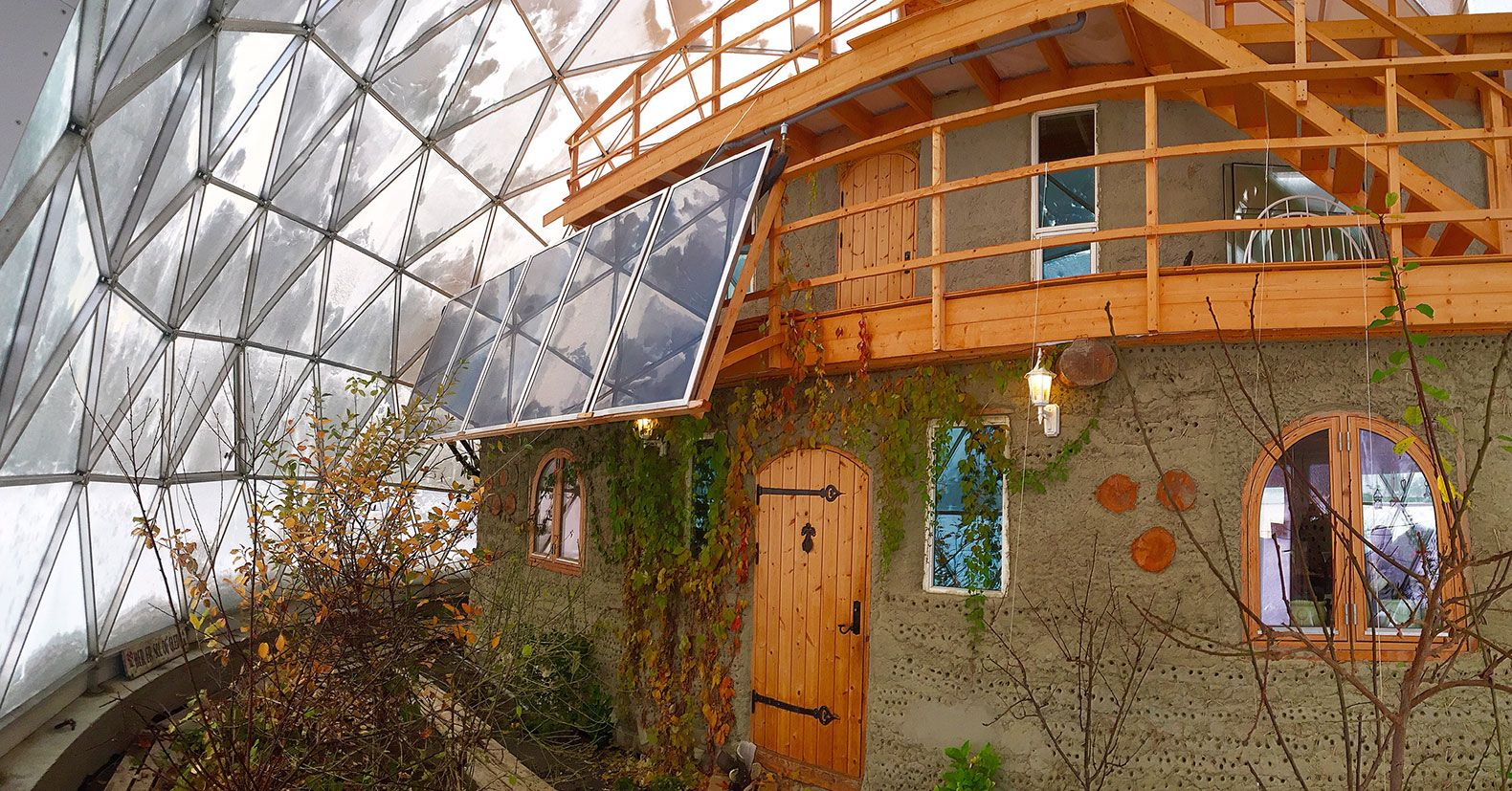 Best Kitchen Gallery: Glass Dome Home Provides Eco Friendly Shelter In The Arctic of Eco Friendly Dome Home on rachelxblog.com