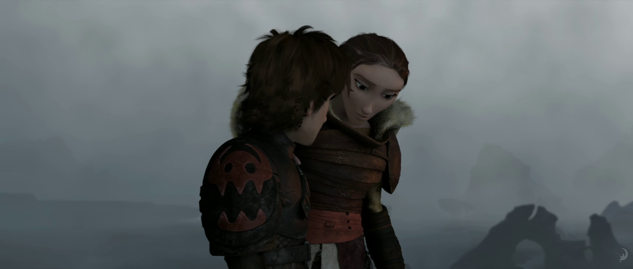 Hiccup and Valka - How to Train Your Dragon 2