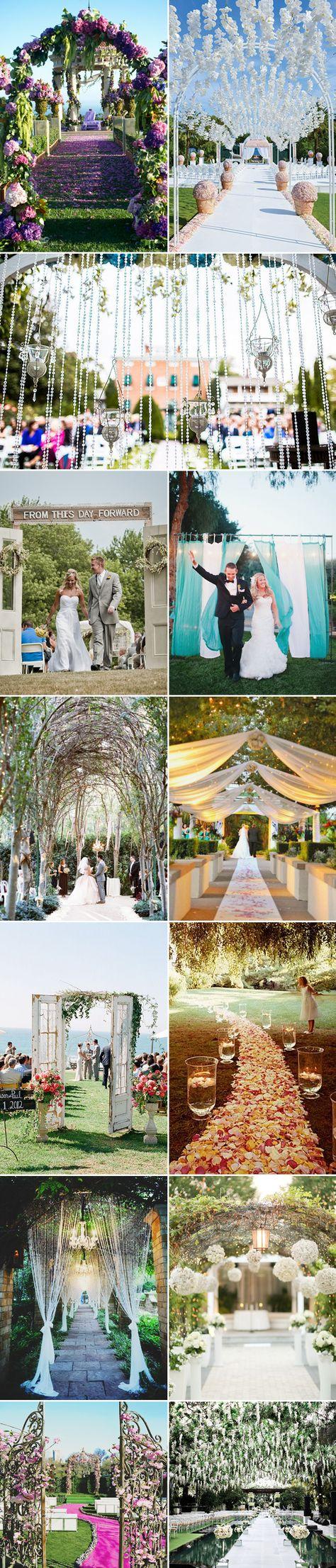 Wedding entry decoration ideas  Making a Beautiful Entrance  Creative Wedding Entrance Decor