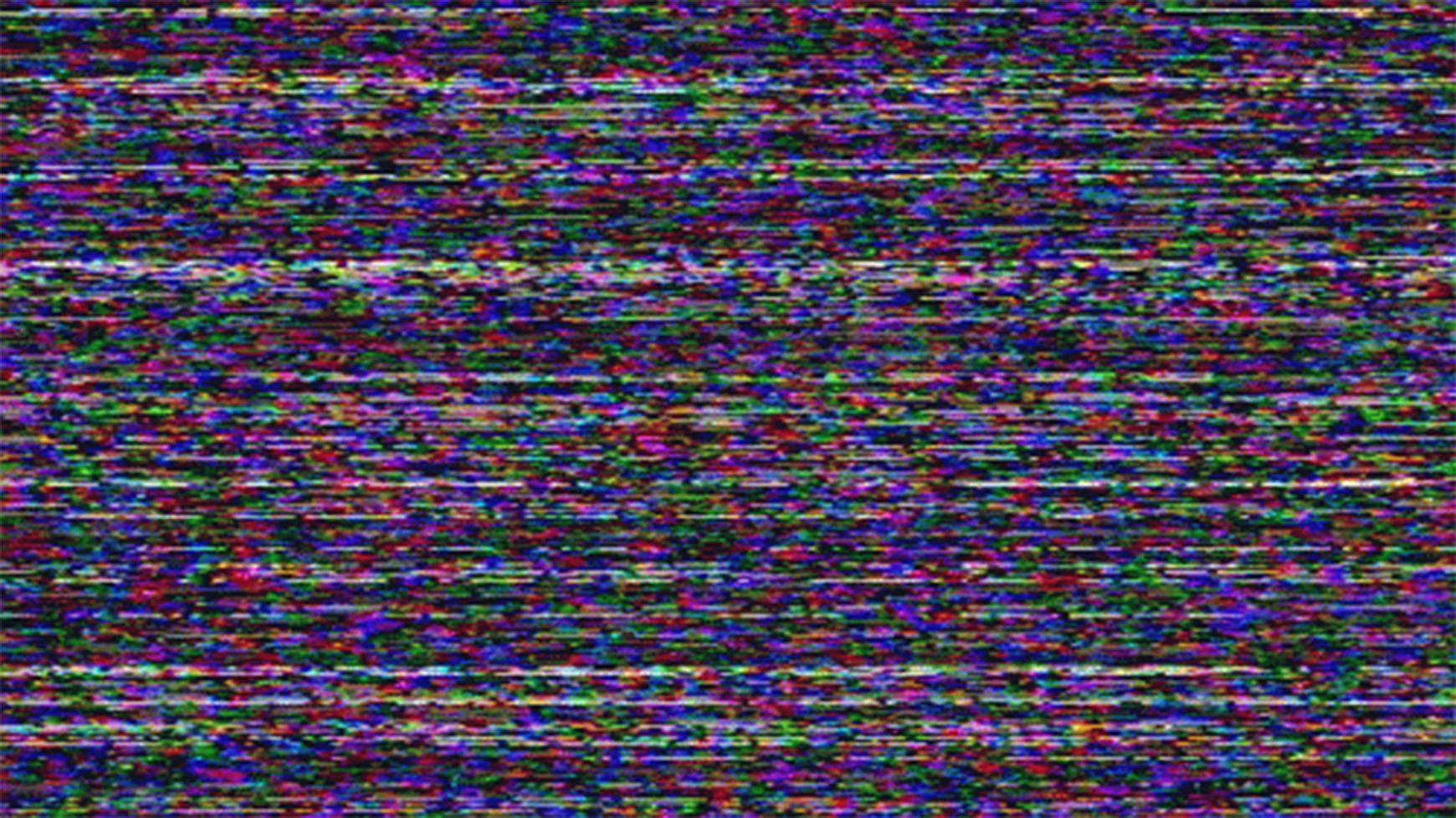 Glitch Gif Aesthetic Gif Tv Static