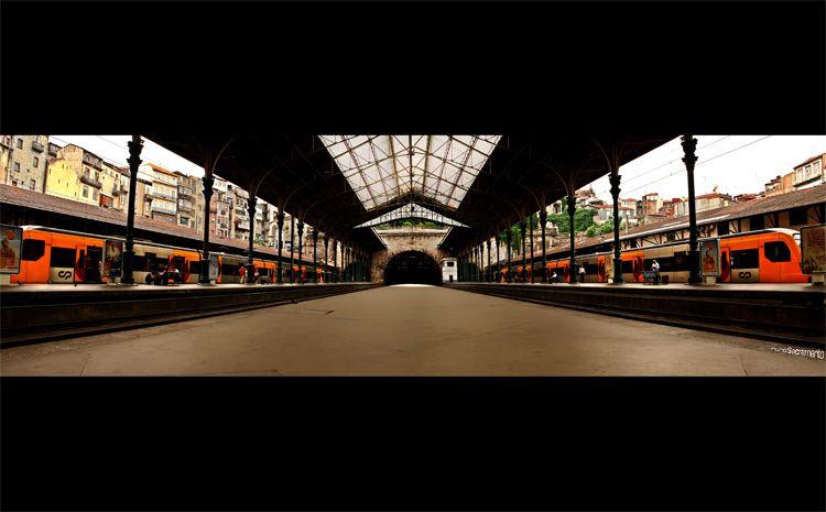 Estação De S.Bento-Porto!