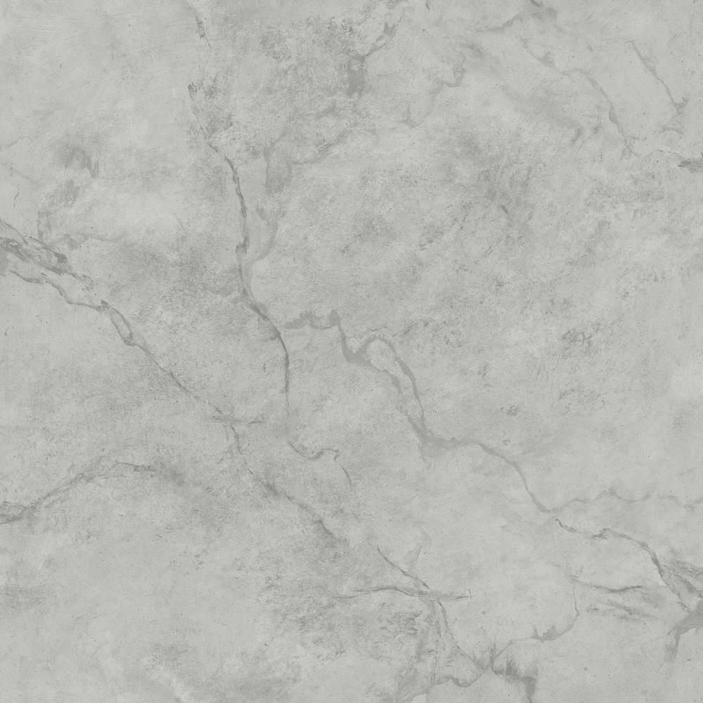 A-Street Innuendo White Marble White Wallpaper Sample-2716-23870SAM - The Home Depot