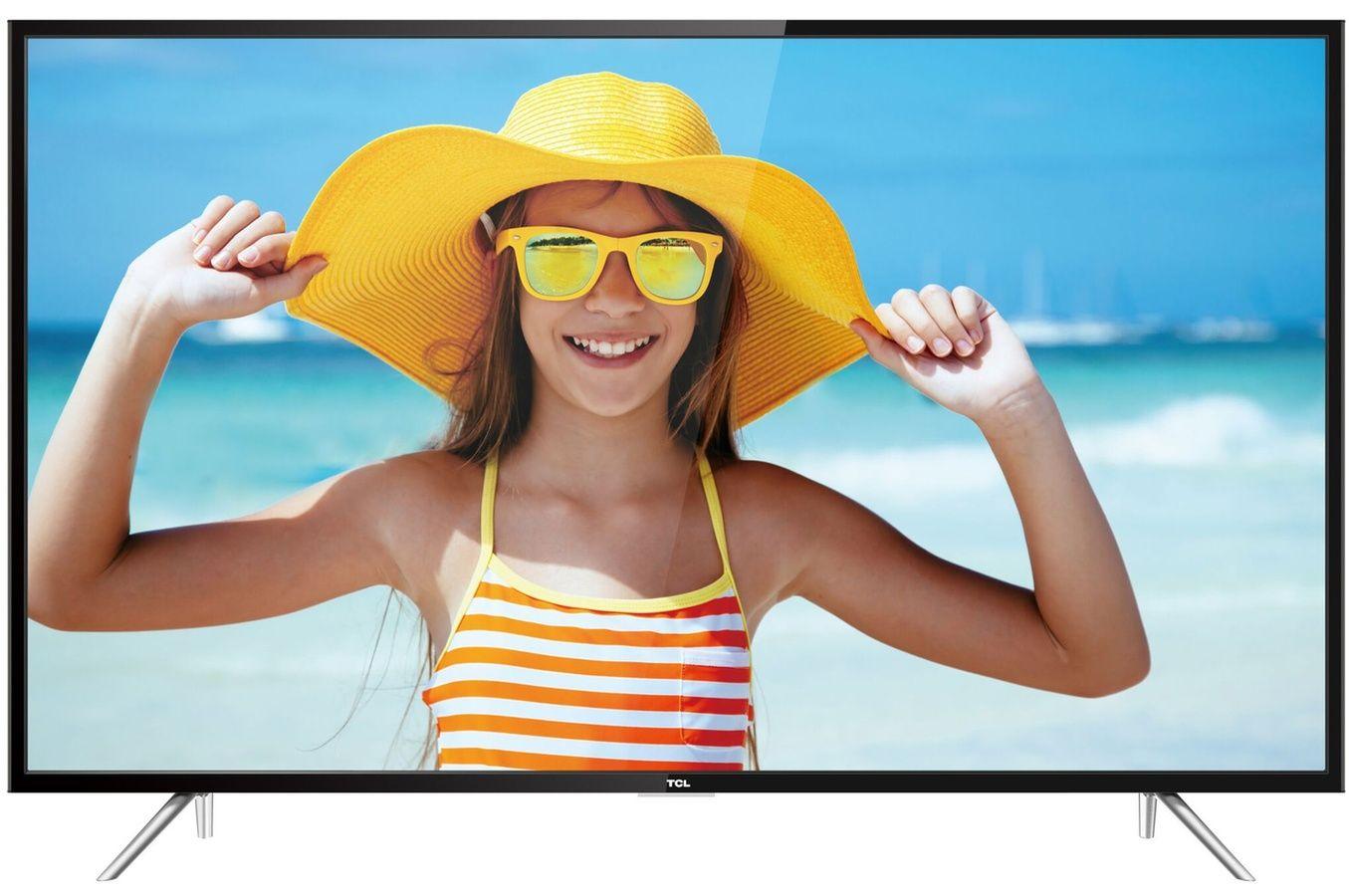 tv led tcl u55p6006 4k uhd pas cher t l viseur 4k darty ventes pas televiseur pas. Black Bedroom Furniture Sets. Home Design Ideas