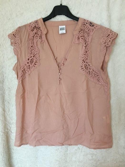 Vero Moda Bluse Shirt S Rosa Altrosa Spitze Shirts Bluse Und Damenmode