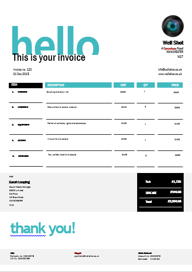 Free Invoice Templates You Can Also Download Our Invoicing App - Freelance invoice app
