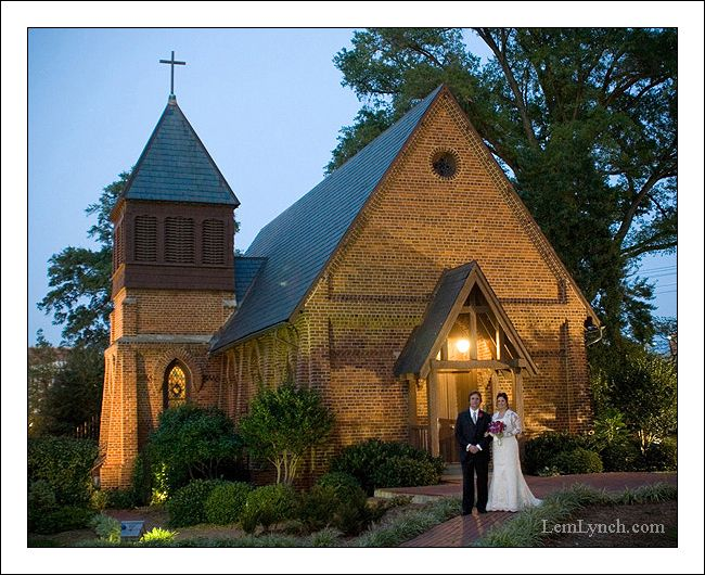Wedding At St Mary S Chapel Charlotte Nc Beautiful Inexpensive Venue In