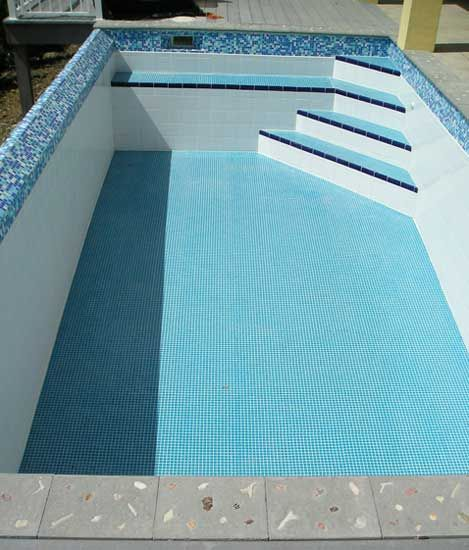 Pools With Waterline Tiles - Google Search