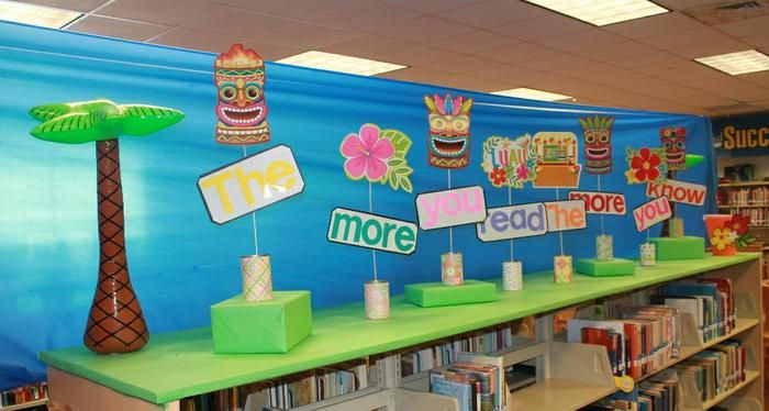 Classroom Luau Ideas ~ Part luau book fair pta bookfair pinterest