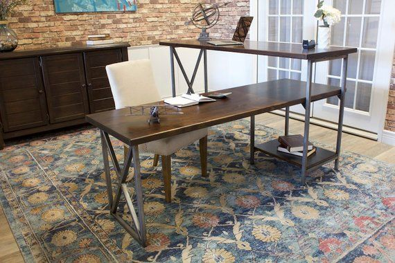 Sit or Stand Corner L-Shaped Desk in 2018 Products Pinterest
