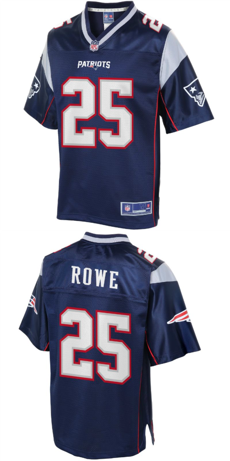 get cheap 5fdcb f5c68 UP TO 70% OFF. Eric Rowe New England Patriots NFL Pro Line ...