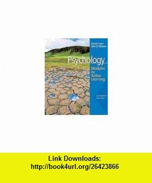Psychology modules for active learning 11th edition dennis coon psychology modules for active learning 11th edition dennis coon john o mitterer fandeluxe Choice Image