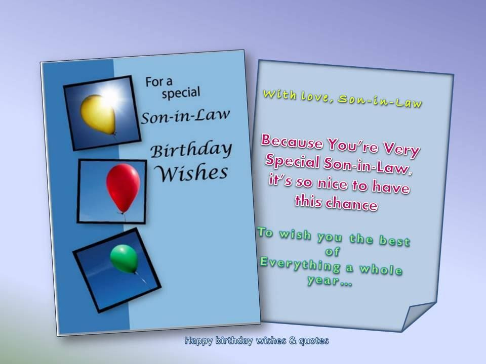 happy birthday ecards for son in law