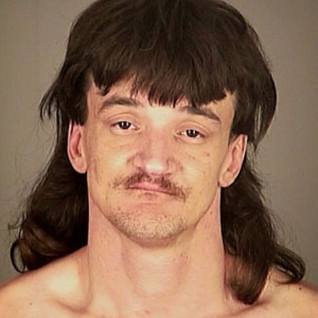 I bet you can buy drugs from this mullet Mullets Funny