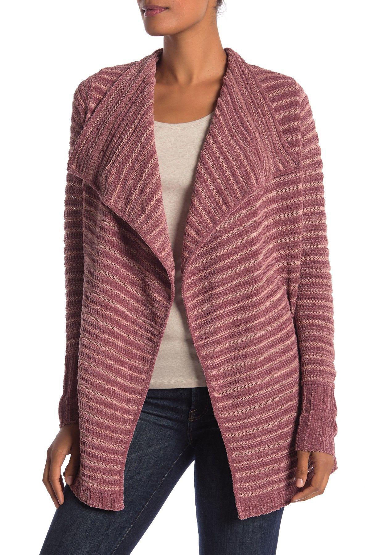 Chenille Soft Knit Cardigan (Regular & Petite) #nordstromrack