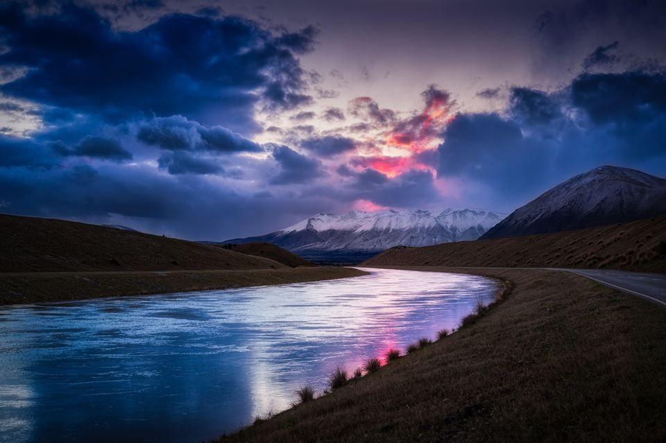 """Scott Kublin """"Parallel Paths"""" - Near Twizel, New Zealand"""