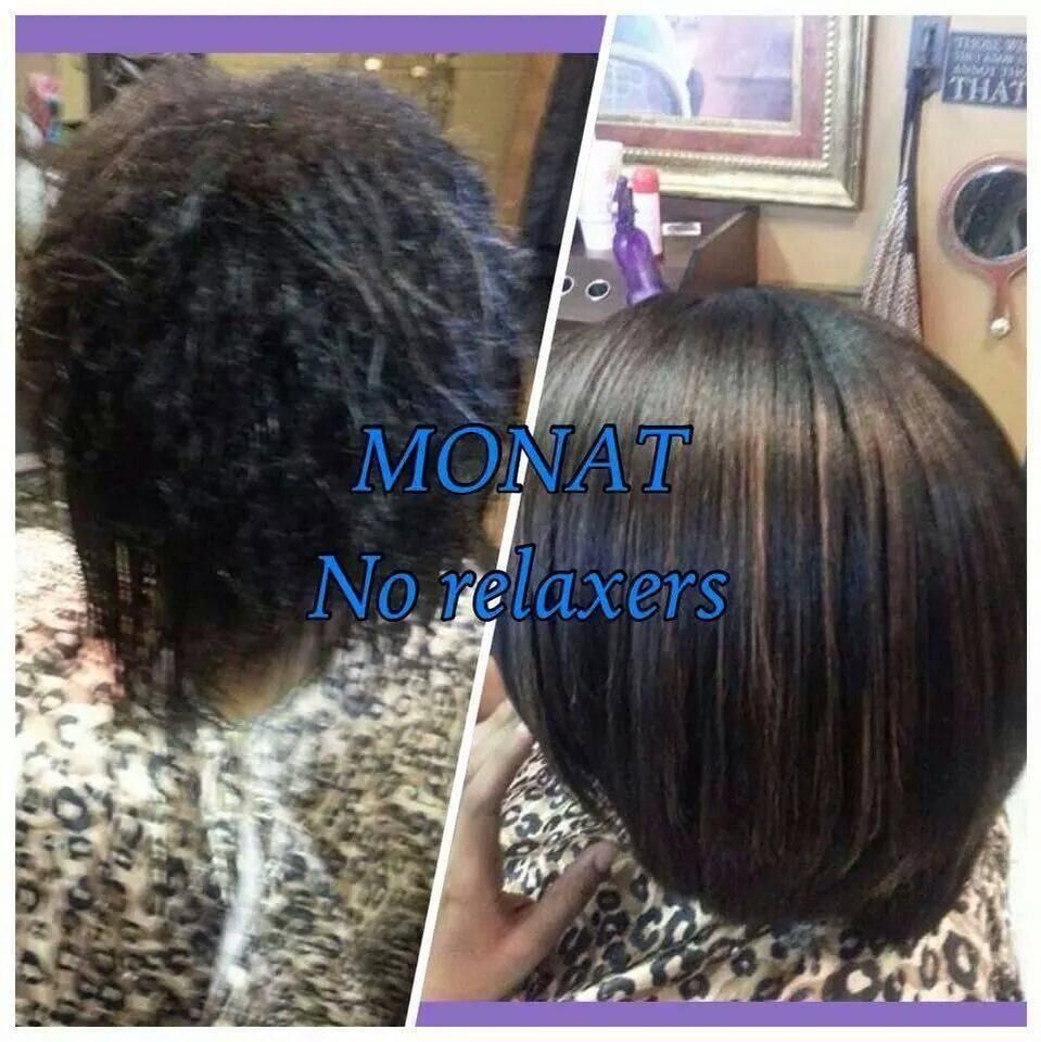 Monat is all naturally based, clinically prove, for all hair types, safe for color treated hair and extensions, comes with a 30 day money back guarantee. Contact me - rhoward.mymonat.com