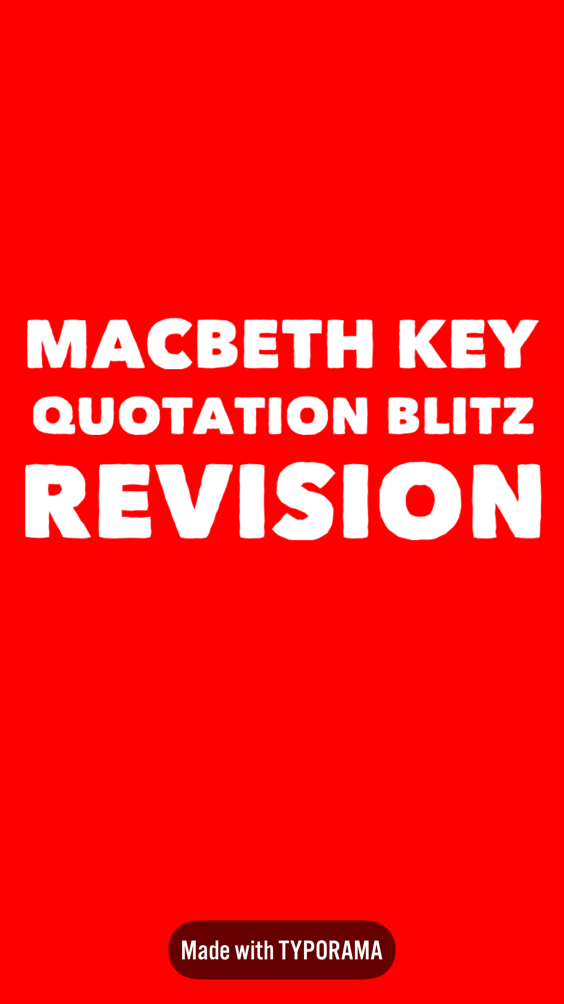 Worksheets For 9 Key Quotations From Macbeth Each Aims To