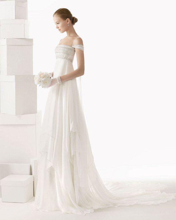 20 vestidos de novia sencillos: novias minimalistas que buscan la
