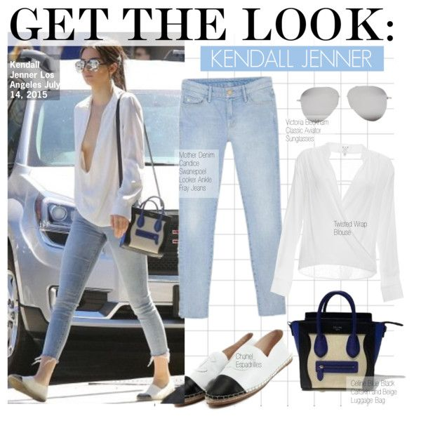Get the Look -Kendall Jenner by kusja on Polyvore featuring mode, Six Crisp Days, Mother, Chanel, Victoria Beckham, GetTheLook, celebstyle and kendalljenner