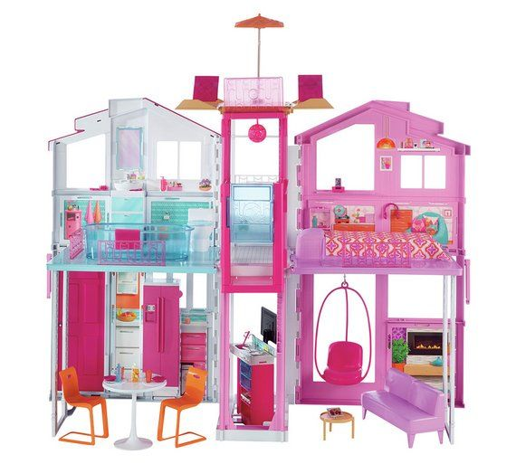 Barbie 3 Story Townhouse At Argos Co Uk Visit
