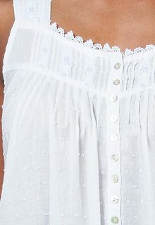 8e9d8c3441 Eileen West cotton nightgown white