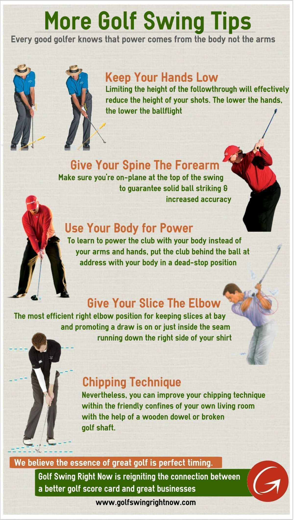 More Golf Swing Tips (Infographic) //www ... Golf Puch Carts Html on