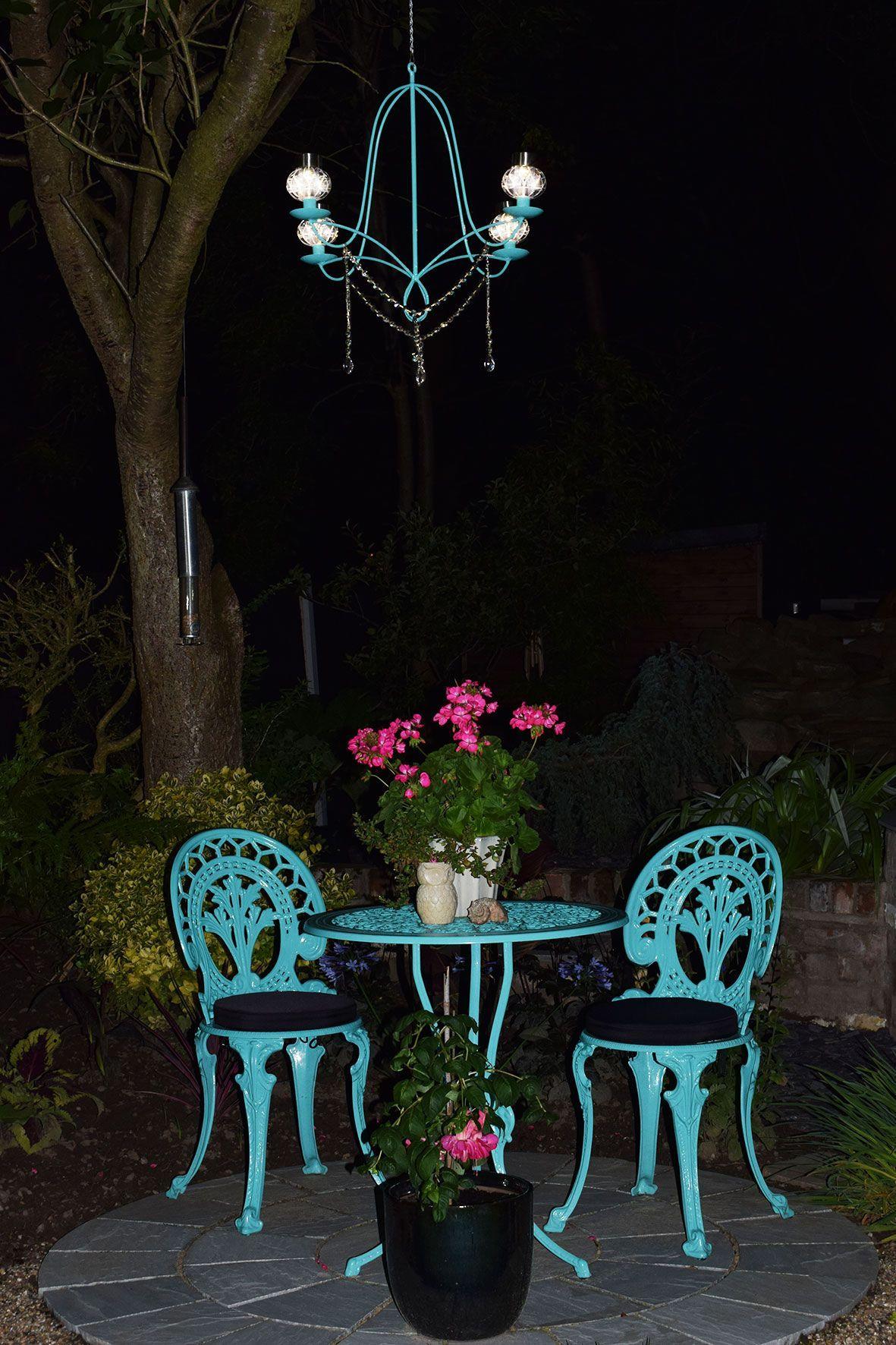 Diy Solar Chandelier To Glam Up Your Garden Solar Chandelier Diy Solar Chandelier Backyard Design