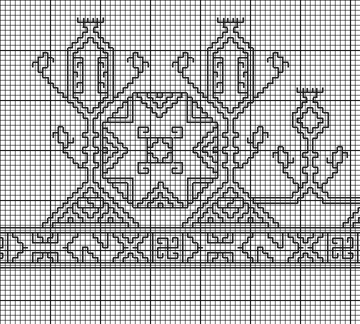 Medieval Egyptian Blackwork Embroidery Embroidery Pinterest