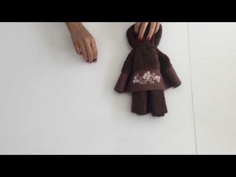 Havludan Oyuncak Ayı Yapımı - YouTube