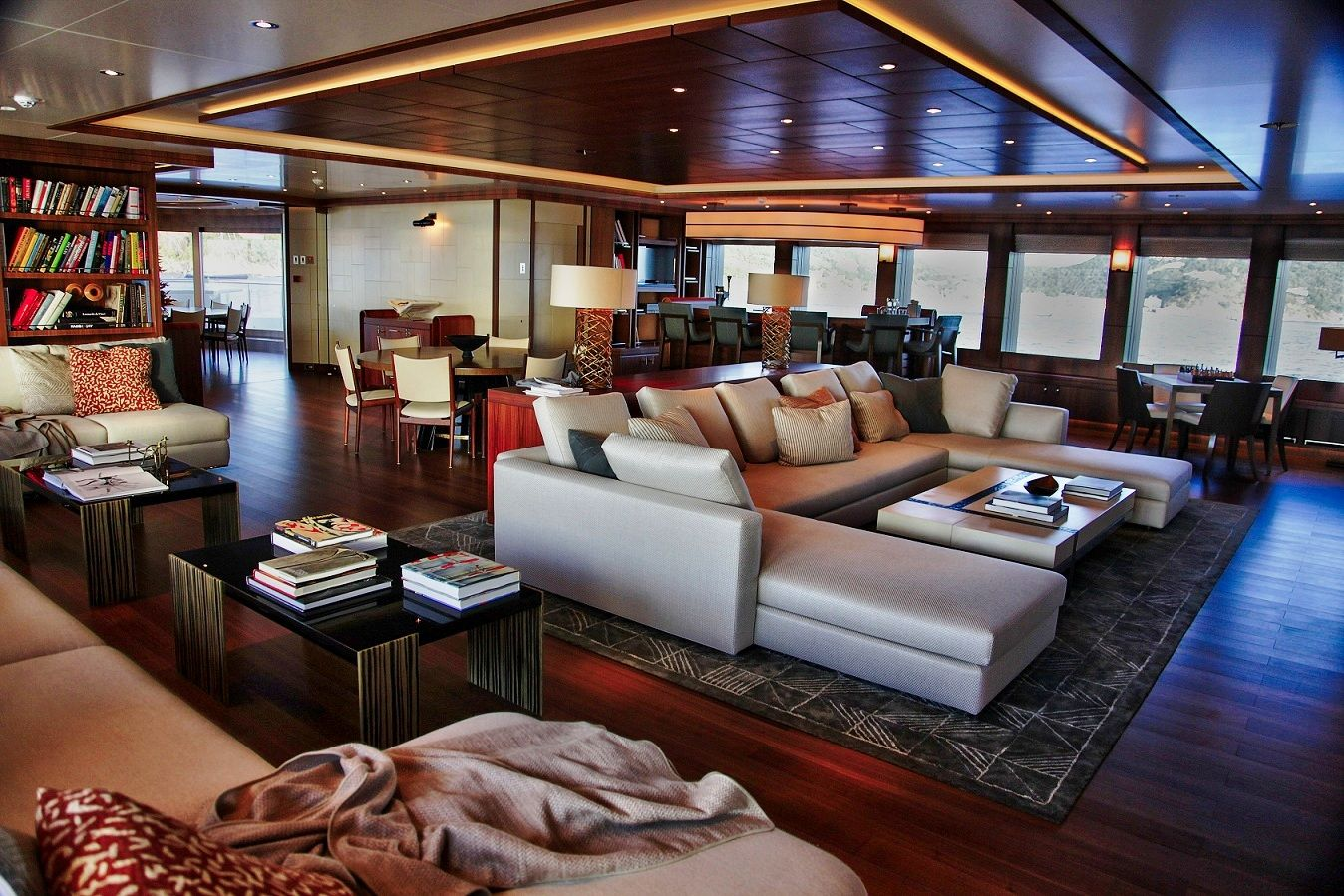Inside Luxury Yachts Inside Scoop Steven Spielberg 39s 200million Superyacht