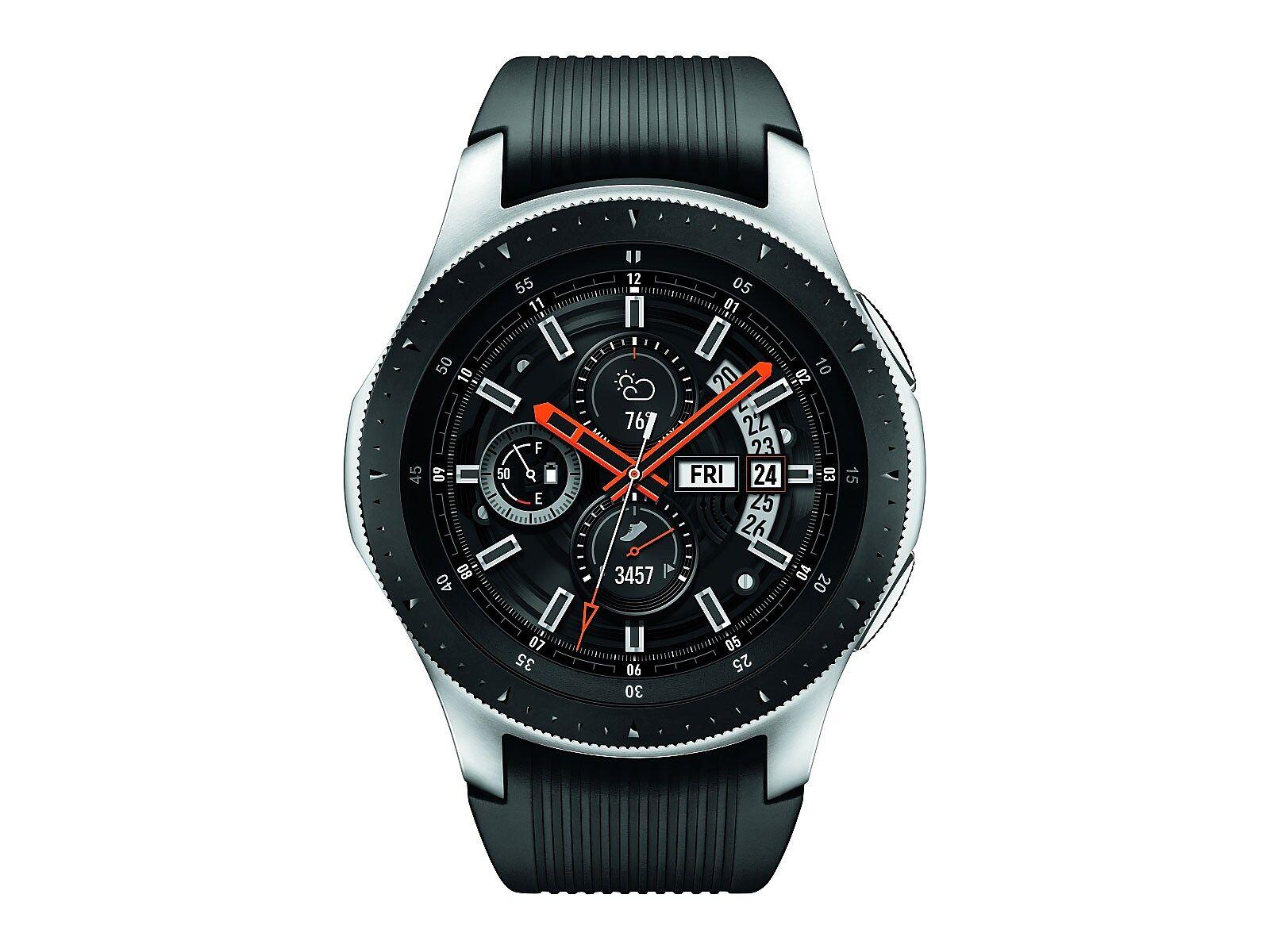 Samsung Galaxy Watch 46mm Silver 4g Lte Smartwatch Smart Watch Watches For Men Wearable Device