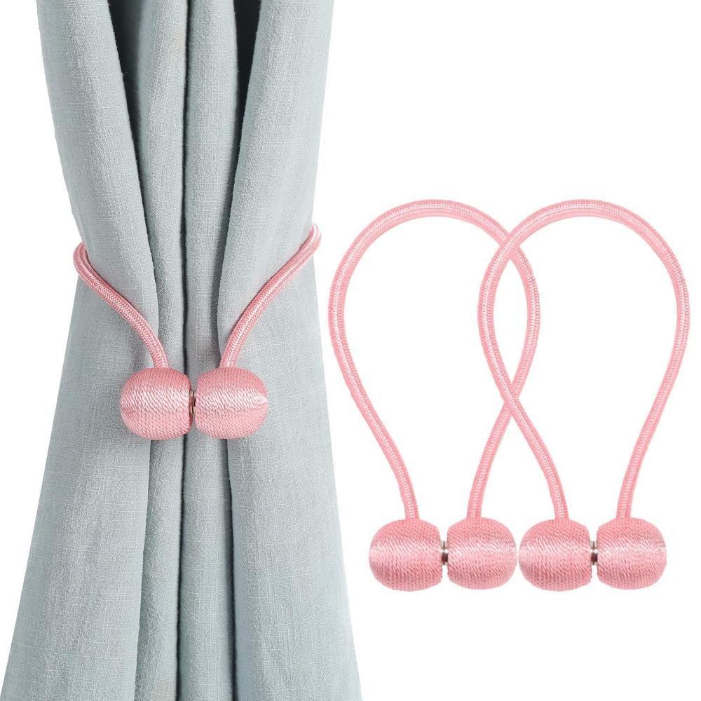 Curtain Tieback Magnetic Curtain Holdback For Draperies Sheer