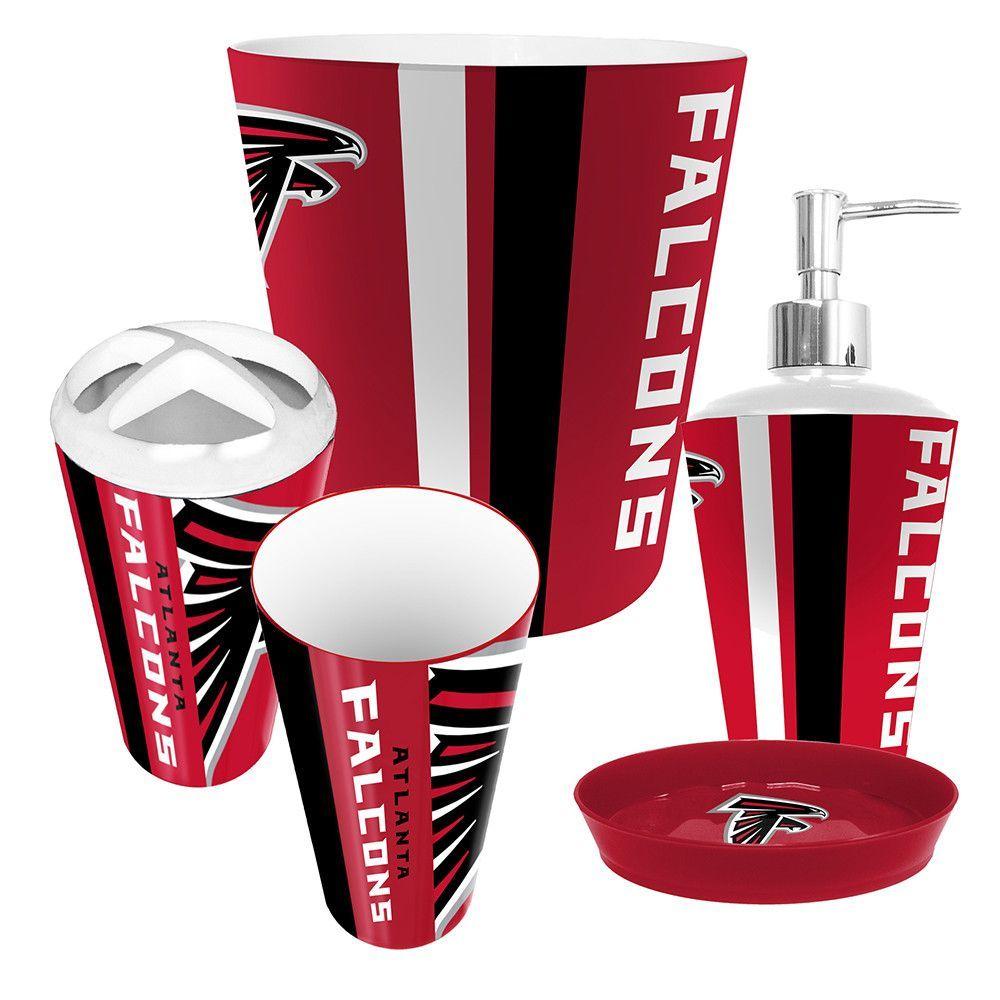 Atlanta Falcons NFL Complete Bathroom Accessories 12pc Set