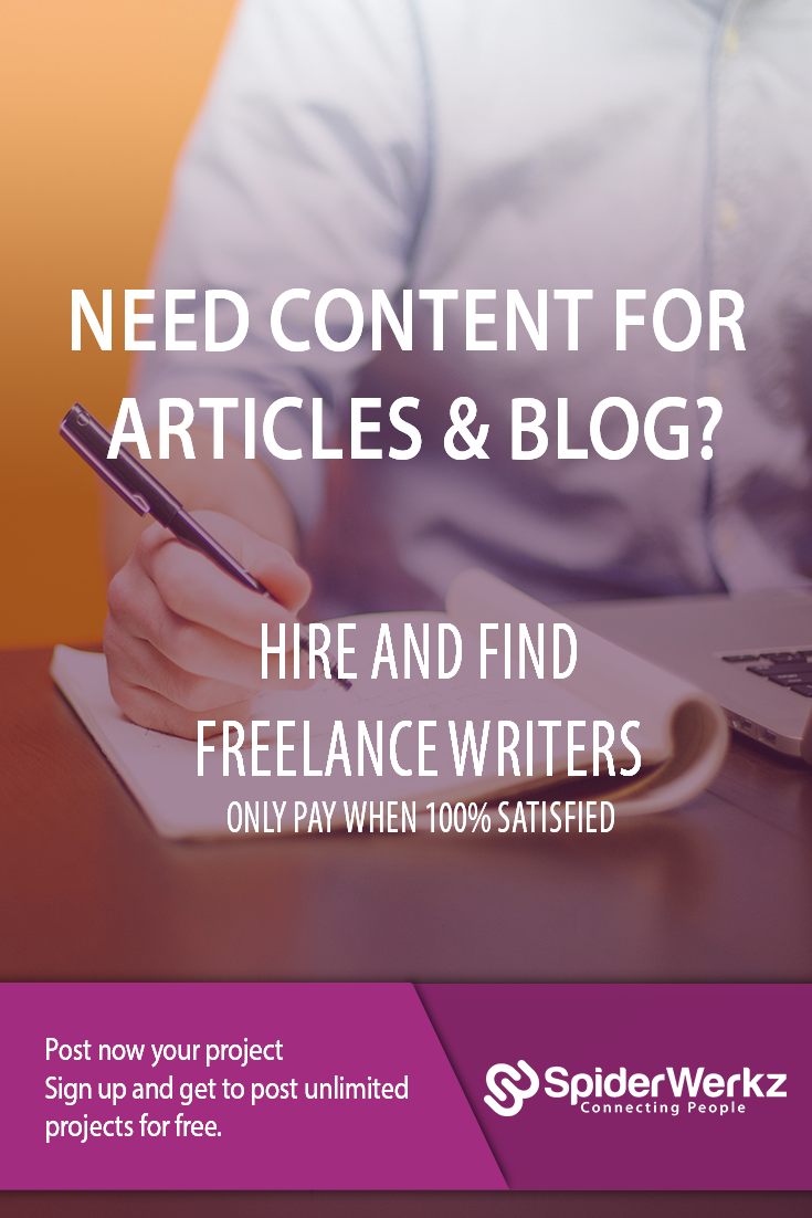 Hire Freelance Content Writers With The Ability To Create Unique Content  Sign Up And Post