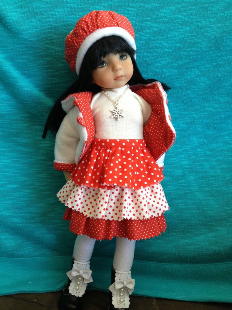"""COSY OOAK HANDMADE 6 PIECE OUTFIT FOR 13"""" DIANNA EFFNER LITTLE DARLING DOLL #ClothingAccessories"""