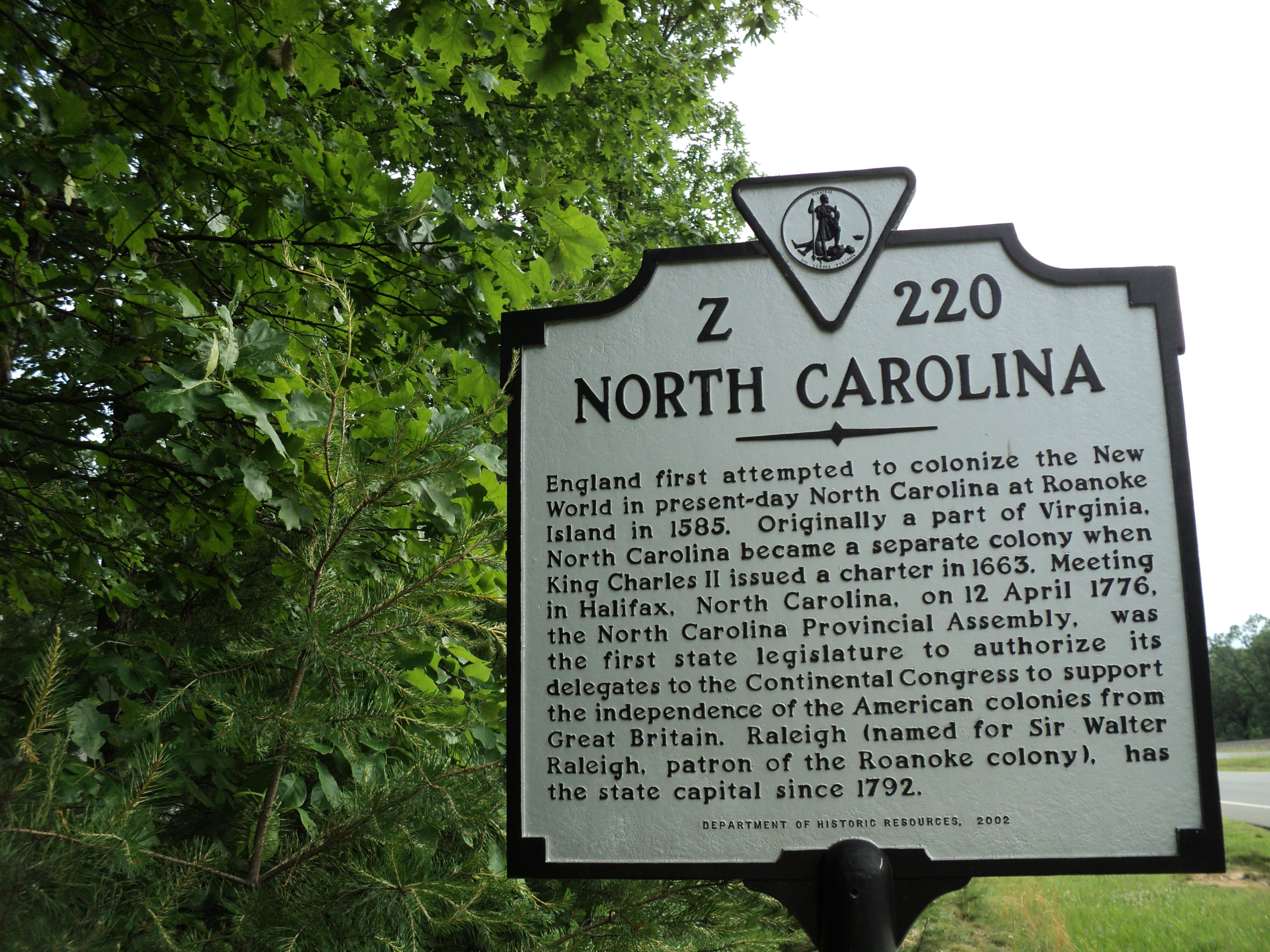 File Historical Marker State Of North Carolina Boundary