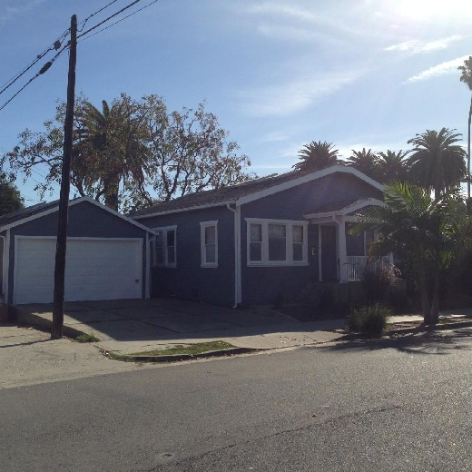 502 Vernon Ave Houses In Los Angeles Ca Westside Rentals Los Angeles Homes Modern Bungalow Office Space