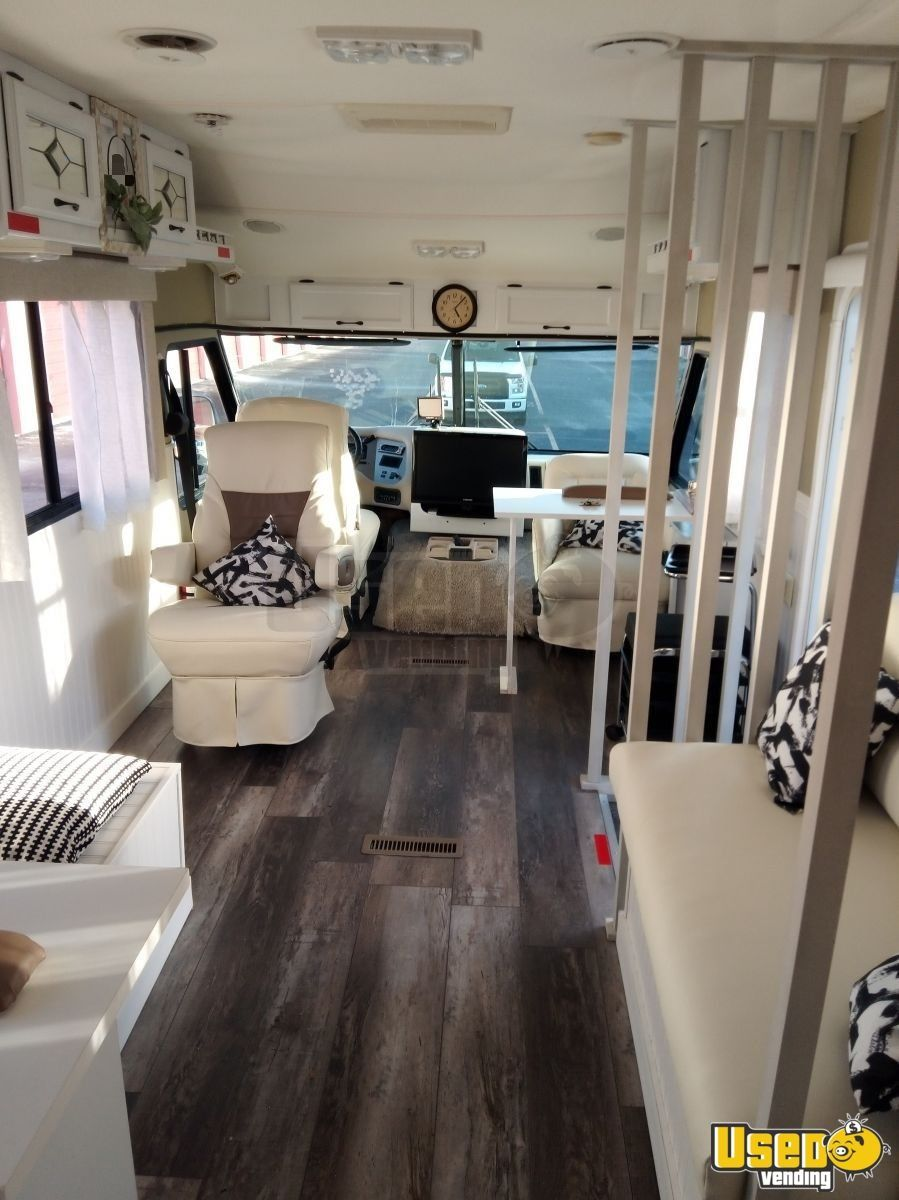 Astounding 34 ford mobile beauty salon with bathroom