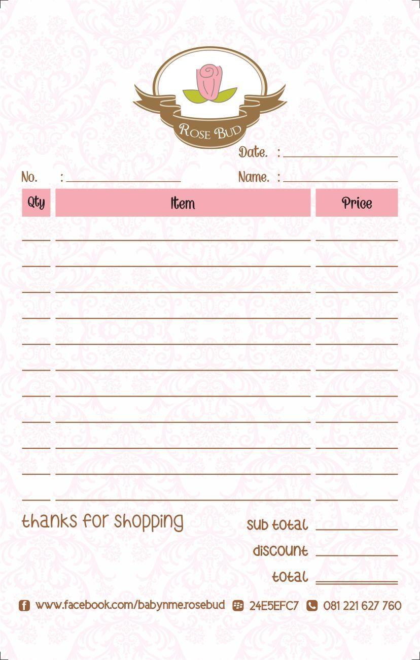 Download Nota Kosong Psd : download, kosong, Format, Order, Olshop, Kosong, Solid, Evidences, Attending, Online, Shop,, Design,, Design
