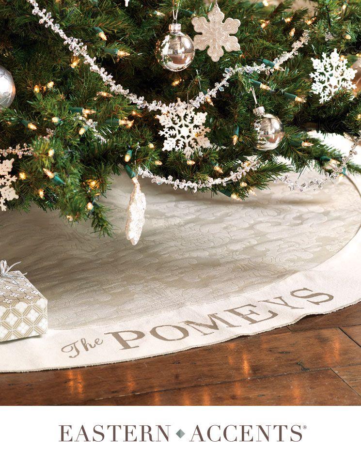 Joyful, Joyful Tree Skirt Christmas Pinterest Tree skirts