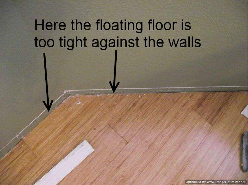 Great Installing Laminate Flooring Bad Laminate