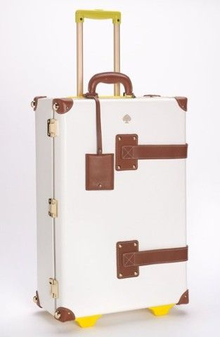 sports shoes 6fa24 6f323 Kate Spade 'New Yorker - Stowaway' Wheeled Suitcase | LOVE it ...