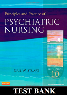Principles And Practices Of Psychiatric Nursing 10th Edition Stuart