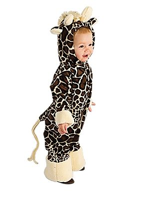 baby giraffe halloween costume for infants and toddlers
