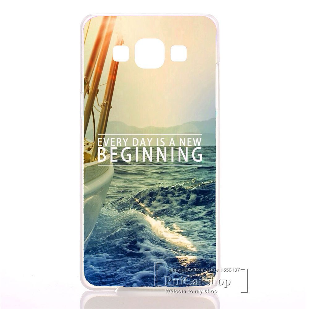 Pu leather case for samsung galaxy a7 2016 a710 peacock feather - Beautiful Ocean Scenery Hard Cover Case For Samsung Galaxy A3 A5 A7 J1 J3 J5 J7