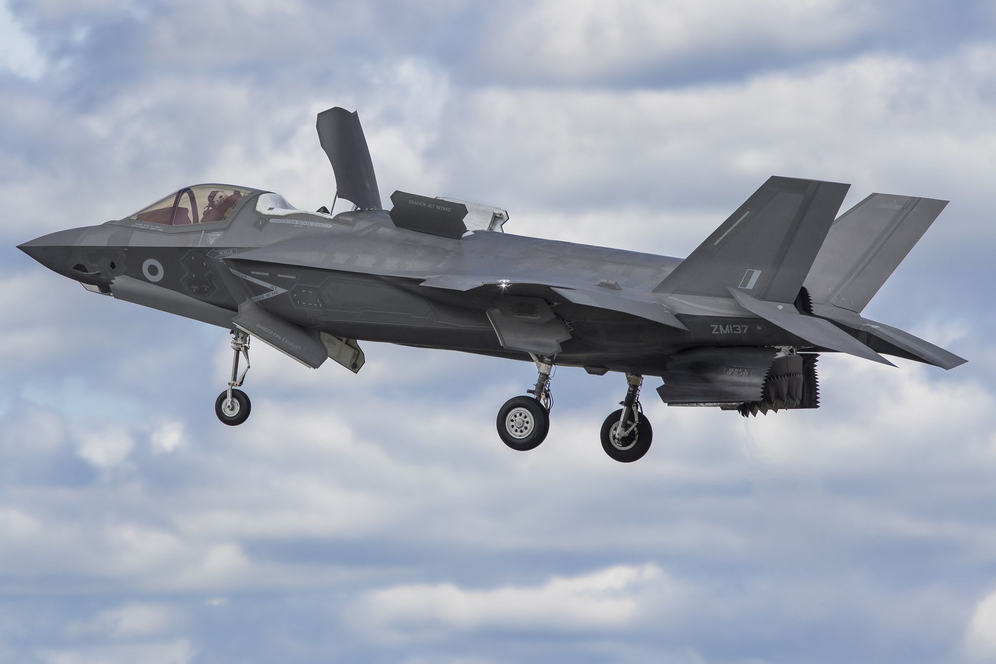 Lockheed Martin F35B Lightning II Military aircraft
