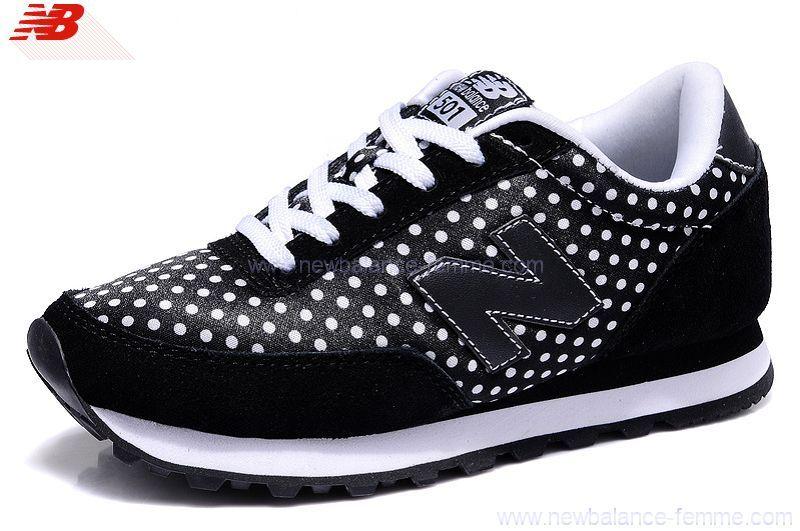 vente chaude en ligne 2cde6 6245a New Balance Wl 501 Chaussures Femme Noir | NB | All black ...