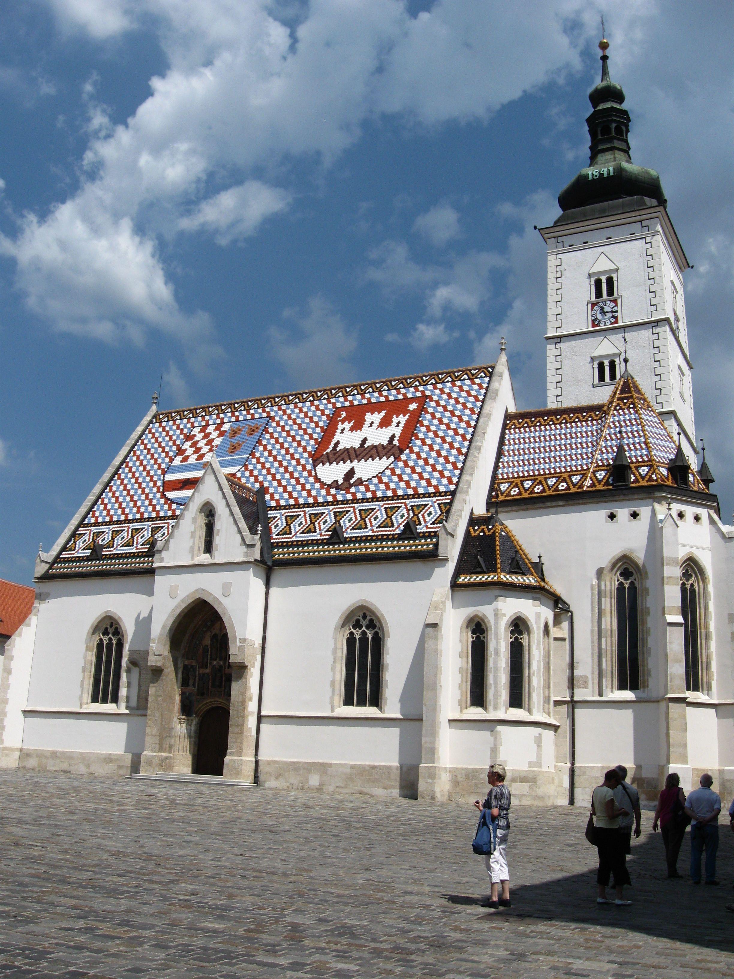 St Mark S Church Visit Croatia Croatia Zagreb